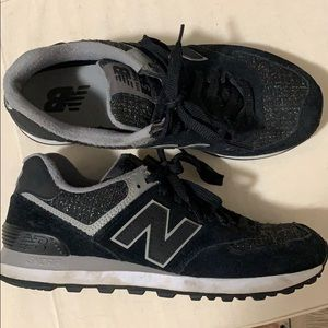 """574 """"Winter Nights"""" New Balance Sneakers - size 8"""